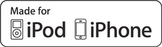 iPod & iPhone music docking station in all apartments