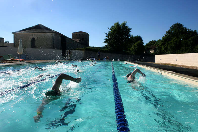 Swimming at Les-Stables